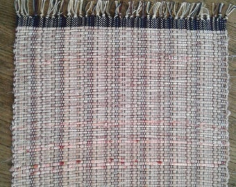 Pink/mauve Hand woven placemats