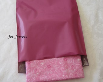 25 Pink Mailers, Shipping Envelopes, Poly Mailers, Mailing Envelopes, Pink Envelopes, Shipping Bags, Mailing Bags, Shipping Supply 10x13