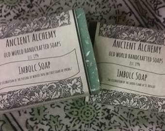 Imbolc Soap - Ending of Winter In Sight, First Signs of Spring
