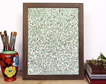 Ladybug Garden - Art Print