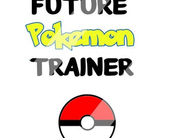 Future Pokemon Cricut ,Die Cut Machines. Svg