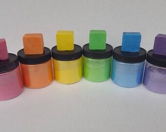 Light Rainbow Mica Collection