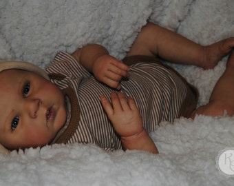 Surprise Awake Reborn Lifelike Art Doll * Realistic Baby Doll * Collectible Doll * Open Eyes * Boy or Girl Reborn Doll * Newborn