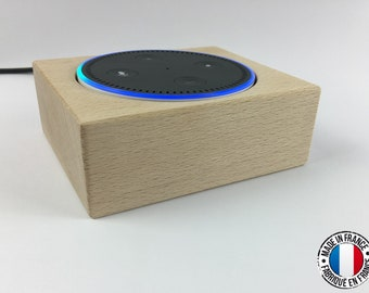 Alexa Speaker Table Stand Wood for Amazon Echo Dot