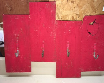 Barn red wall hanging