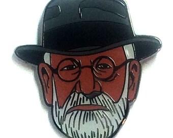 Sigmund Freud Psychology Pin