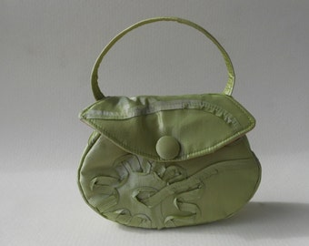Avocado Green Cocktail Bag