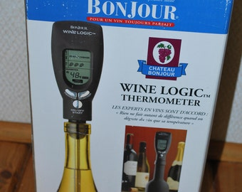 Serve It Right with This Handy BonJour Wine Thermometer!