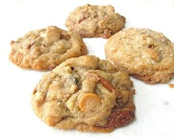 Delicious Butterscotch Pecan Cookies - 2 dozen