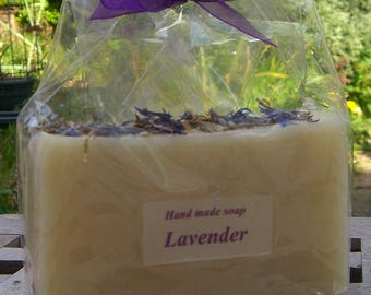 Lavender Handmade Soap. Gift Soap. Lavender Gifts. Aromatherapy Soap. Mother's. Cold Process Soap. UK Soap. UK Seller