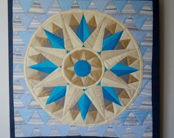 Mandala inner diamonds n.22, PRESENCE, Spiritual healing object