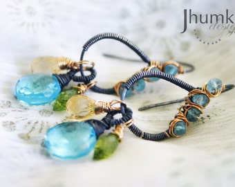 Ananda /// Earrings by Jhumki luxe - designs by raindrops