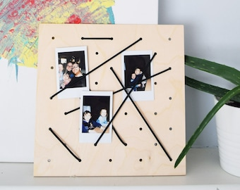 French Memory Board, picture frame,  support, reminder, note