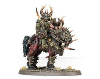 Nurgle lord on maunt  warhammer wargames