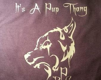 It's A Pup Thang logo T-Shirt