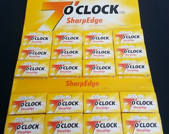 200-Gillette 7o'clock SharpEdge Razor blades