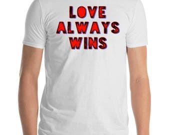 Christian T - Shirt Love always win T-SHIRT