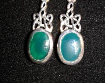 Sterling Silver Celtic Knot Work (E06)