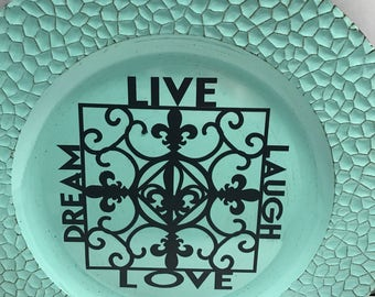 Live charger plate