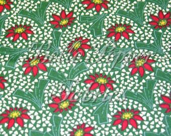 Andover Fabrics Santa Claus Lane grün 1 Yard