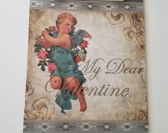 Altered Clipboard, Valentine's Day Clipboard