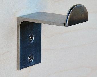 Towel hook / Towel Hanger, Modern wall hook, Robe Hook, Bathroom or Kitchen, Minimal , Modern design, Stainless Steel