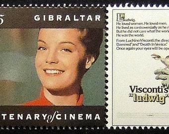 "Visconti's ""Ludwig"" Romy Schneider Movies -Handmade Framed Postage Stamp Art 13260"