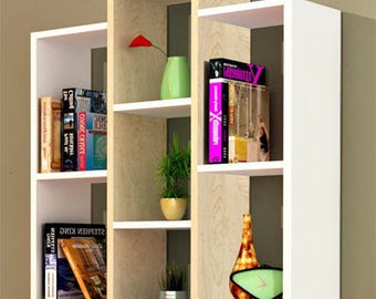 7 Shelf Storage Bookcase,bookshelves,bookshelf,bookcase