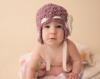 baby girl hat, newborn girl hat, crochet girls hat, , kids hat, girls hat,  hat for girls, crochet hat for girls, baby girl hat, winter hat