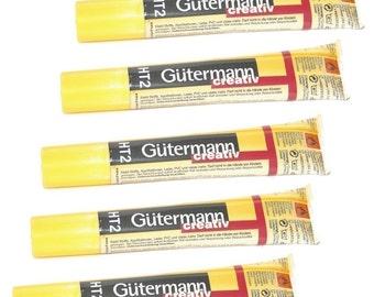 5 Gutermann Creativ HT2 Textile Glues 30g