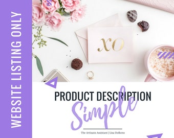 Website - Update your Copy on your Website with a Simple Product Description Upgrade   Google SEO Rich Kewords with Great Call to Actions
