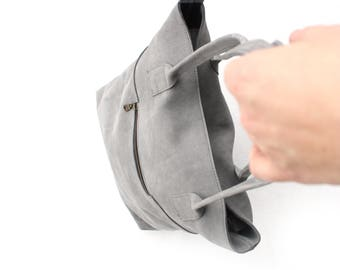 Leren luiertas - lederen tas - Leather diaperbag