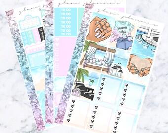 Beach House Essentials Sticker Kit