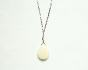 graduation gift jewelry long pendant necklace / minimalist layering jewelry / long boho necklace june birthday