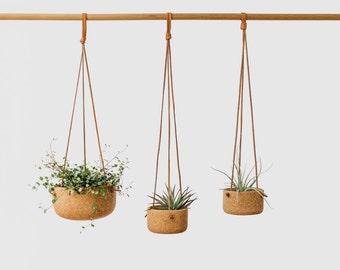 Cork Hanging Planter