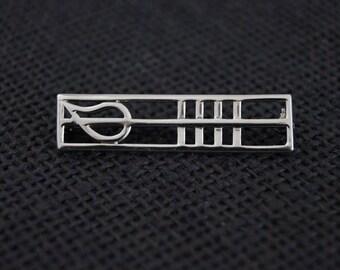 Vintage Sterling Silver Brooch - Vintage Brooch - Vintage Pin - Vintage Silver Pin - Vintage Silver Brooch Vintage Silver Pin