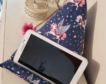 Unicorn Tablet Stand *Unicorn Tablet Cushion* *Tablet Pillow*