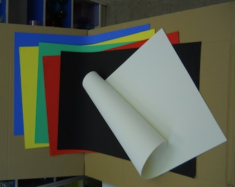 """2mm 26"""" x 39"""" EVA Foam Sheet 1pc available in 7 colors."""