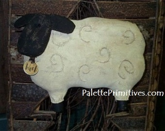 Prim Sheep - E-pattern/Instant Download