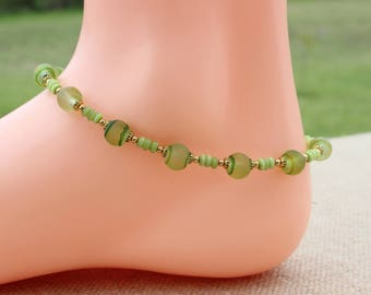 Her Ankle Bracelet