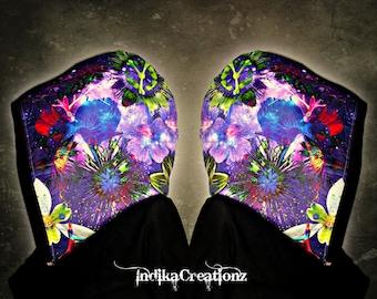 COSMIC BLOOM // Custom Organic Cotton Hood!