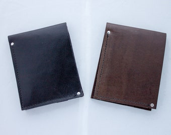 Classic Leather Billfold Wallet