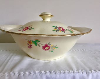1940 Alfred Meakin vintage tureen. Vegetable dish.