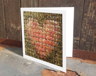 Christmas card ' Heart of Gold '