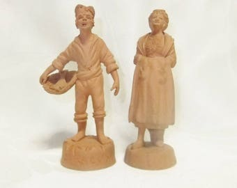 Giuseppe GRASSO (XX) / ceramic Sculptures / Syracuse / Sicily / Italian Terracotta