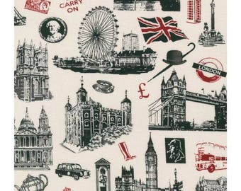 Cotton Fabric Quilting All About London *