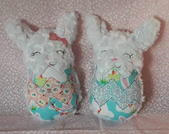 Gorgeous stuffed Easter Bunny CE TESTED