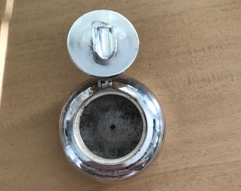 Vintage Silver Plated Personal Ashtray