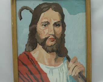 Paint by Number Jesus