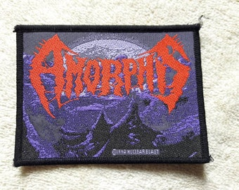 Vintage 1994 Amorphis Patch . Vtg 90s 1990s Death Doom Metal My Dying Bride Paradise Lost